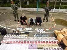 Chinese bende smokkelde dure goederen met kabelbaan tussen gebouwen