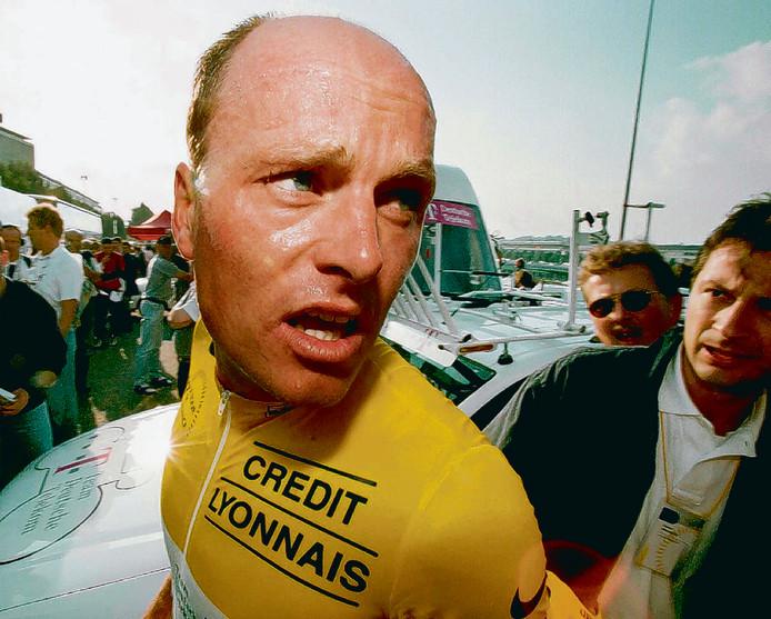 Bjarne Riis won in 1996 de Tour.
