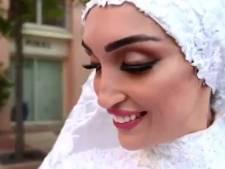 Liefdevolle bruiloftsvideo wordt verslag van chaos in Beiroet: 'Onze droomplek werd nachtmerrie'