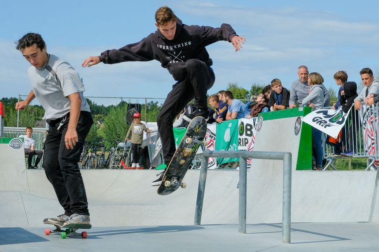 Nieuw skatepark