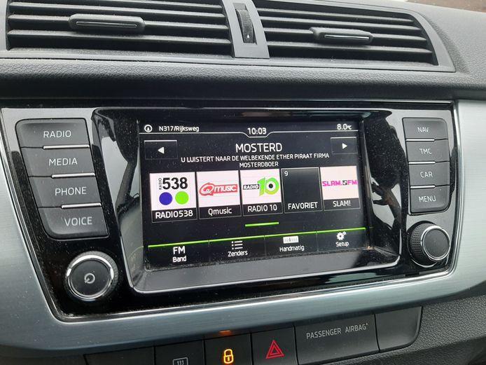Firma De Mosterdboer is ook prima te beluisteren in de auto.