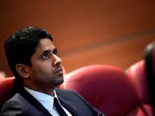 """Le patron du PSG, Nasser Al-Khelaïfi, mis en examen pour """"corruption active"""""""