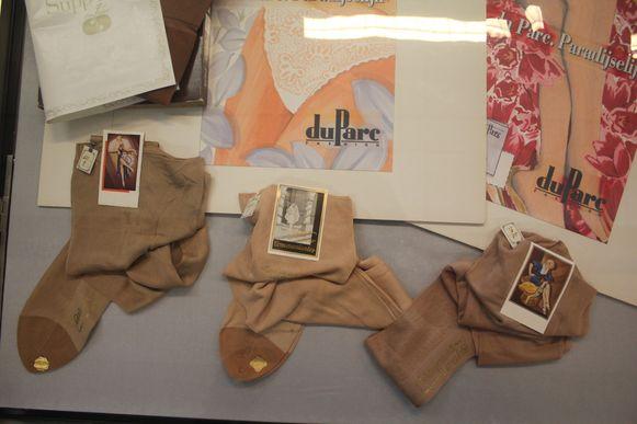 De panty's van Du Parc illustreren de Aalsterse textielgeschiedenis.