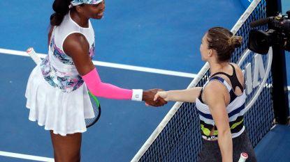 Zverev stoot probleemloos door - Halep voorbij Venus Williams naar achtste finales tegen Serena - Djokovic verliest voor het eerst een set
