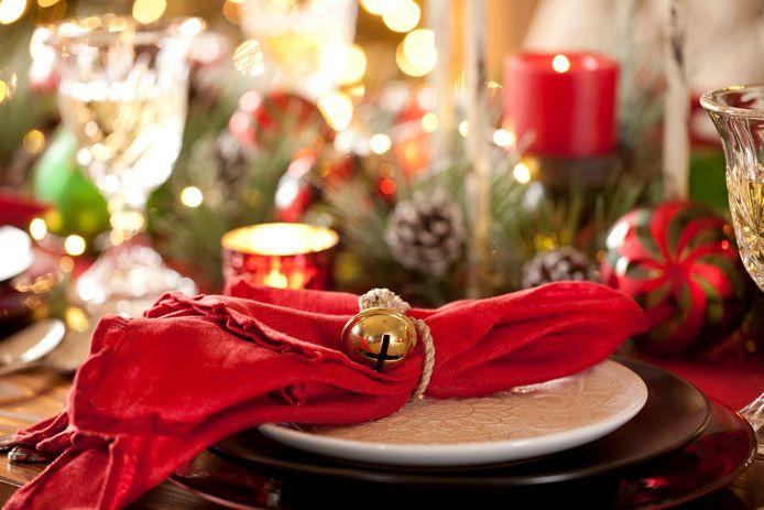 De kerstdis blijft leeg dit jaar.