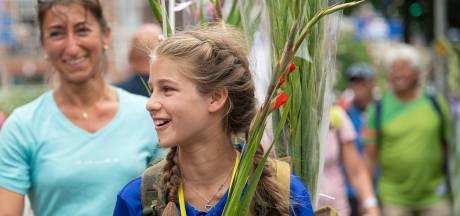 Jongste Vierdaagsedeelnemer Selina (11) gaat nu eerst uitslapen