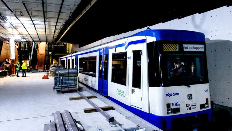 'Bij de aanleg van de tunnelbuis is rekening gehouden met de mogelijke komst van het station' Beeld anp