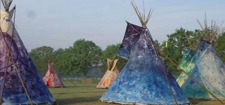 Actiegroep De Grauwe Eeuw vindt tipi-tentenkamp in Breda 'vorm van racisme'