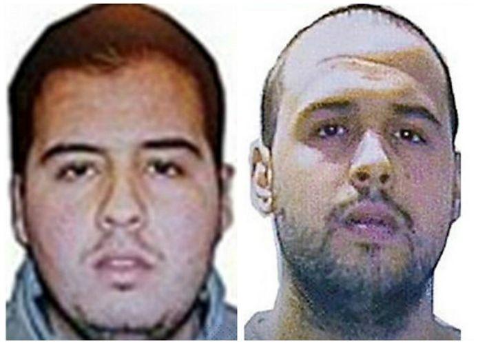 Ibrahim El Bakraoui (à gauche) et son frère Khalid.
