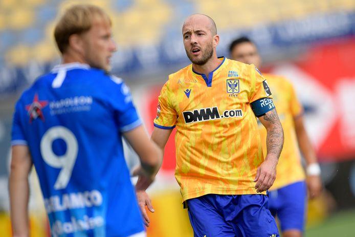 Steve De Ridder stond in de basis in de enige match die STVV dit seizoen won, thuis tegen Gent. Een gunstig voorteken?