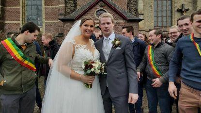 Schrikkelhuwelijk voor Linde en Niels