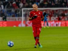 Robben mist duel met Ajax: 'Het gaat niet goed'