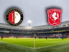 LIVE | Opstellingen Feyenoord en FC Twente bekend, FC Twente zonder Brama
