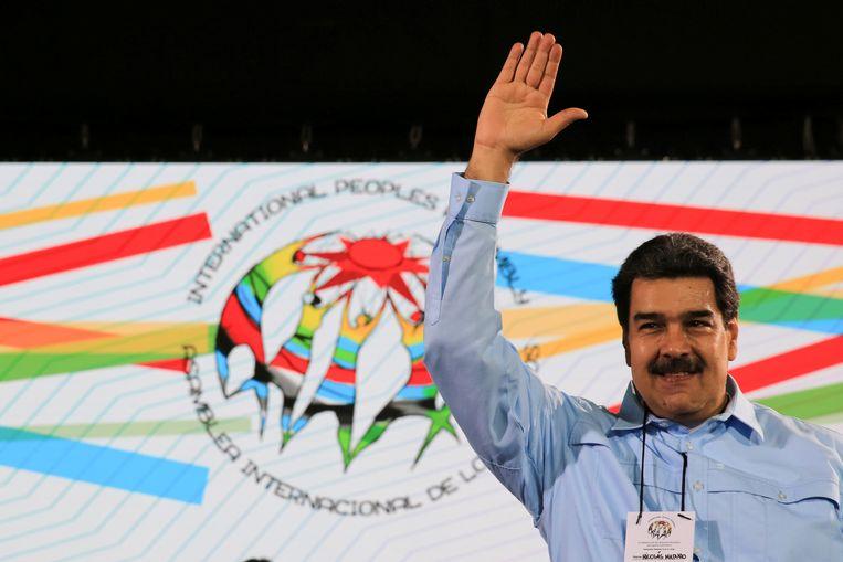 De Venezolaanse president Nicolas Maduro is verwikkeld in een machtsstrijd met de zelfverklaarde interim-president Juan Guaido.