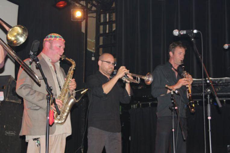 De Amsterdam Klezmer Band in de Oude Zaal van de Melkweg. Foto Thom Puiman Beeld