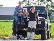Protest tegen Doggywonderland in Nieuwaal