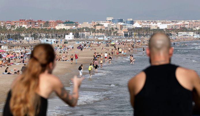 Beide slachtoffers verdronken in zee bij het populaire strand La Malvarrosa.