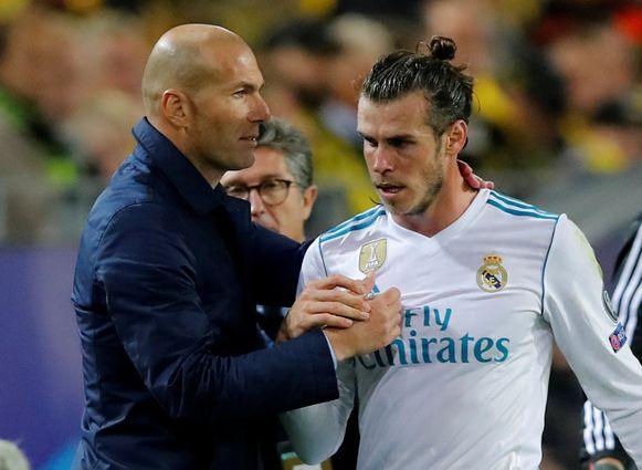 Zidane en Bale in betere tijden.