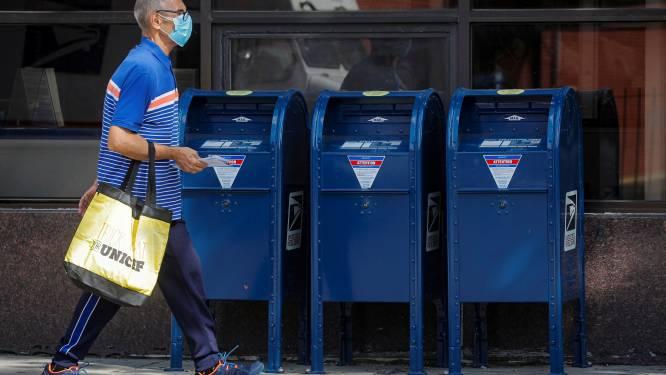 Na alle ophef: Amerikaanse postdienst lanceert website over stemmen per brief