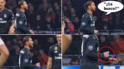 """Het moment dat Sergio Ramos de kwartfinale kan kosten: """"Pak ik dat geel?"""""""