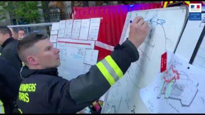Brand Notre-Dame: zo nauwkeurig ging brandweer te werk