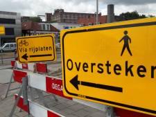 Ondernemers aan De Heurne in Enschede houden de moed erin tijdens werkzaamheden