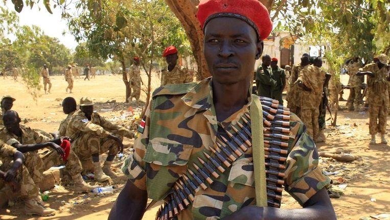 Zuid-Soedanese soldaten. Beeld reuters