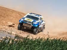 Vier lekke banden, maar wel derde etappezege Van Loon in Morocco Desert Challenge; Van Genugten wint ook