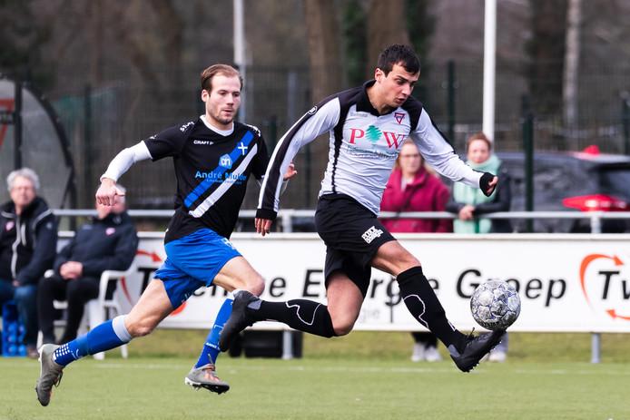 Sander Thomas kon zaterdag niet het verschil maken voor Sparta Enschede.