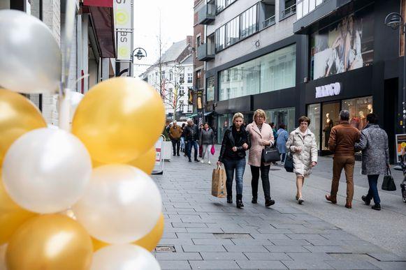 Shoppen in Hasselt.