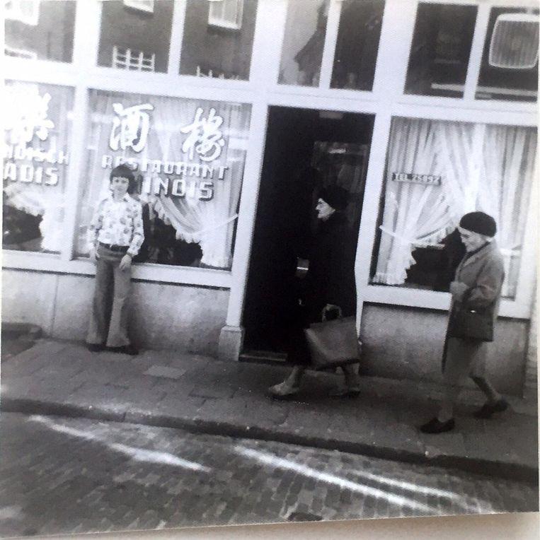 Middelburg, Pottenmarkt, rond 1977. Beeld