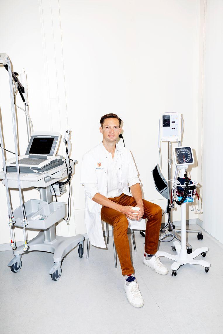 Harald Jørstad:  'Bij ieder nieuw wereldrecord heeft een hart iets gepresteerd wat nooit eerder is gedaan.' Beeld Marie Wanders
