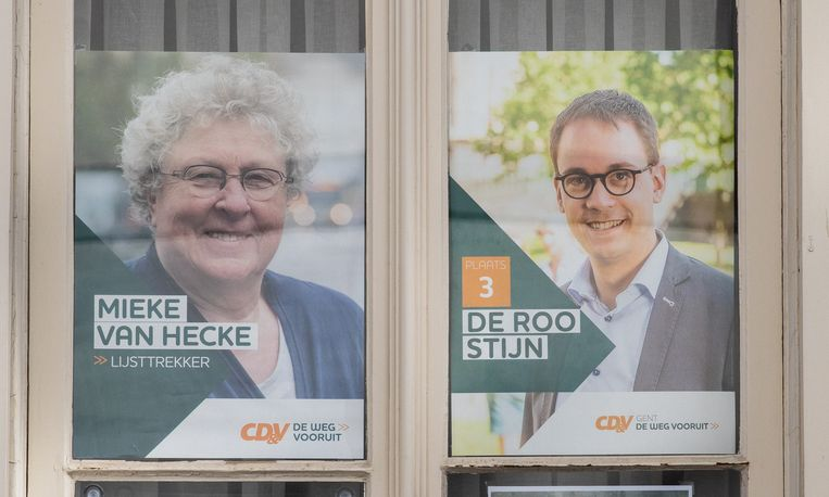 De affiches van Mieke Van Hecke en Stijn De Roo