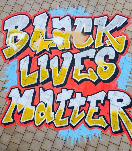 Black Lives Matter-demonstratie op Ginkelse Heide in Ede