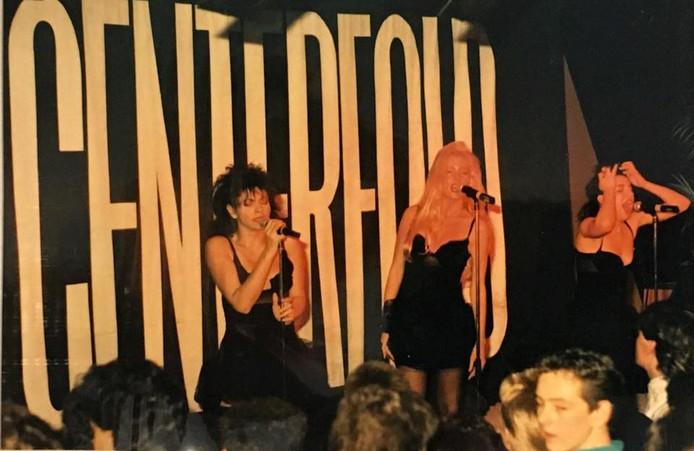 Centerfold in de jaren 80 in Flash Nieuwegein.