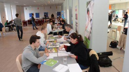 Studenten GTI leren solliciteren