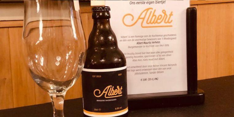 Het nieuwe bier 'Albert'