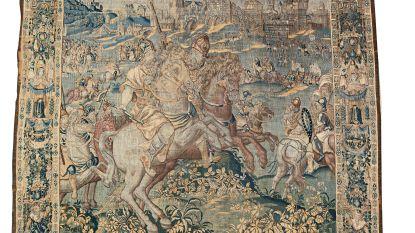 Oudenaarde wil nòg drie wandtapijten uit 'De geschiedenis van Alexander' vinden en aankopen
