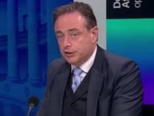 """Bart De Wever égratigne le MR et Bouchez: """"Cela n'a pas de sens"""""""