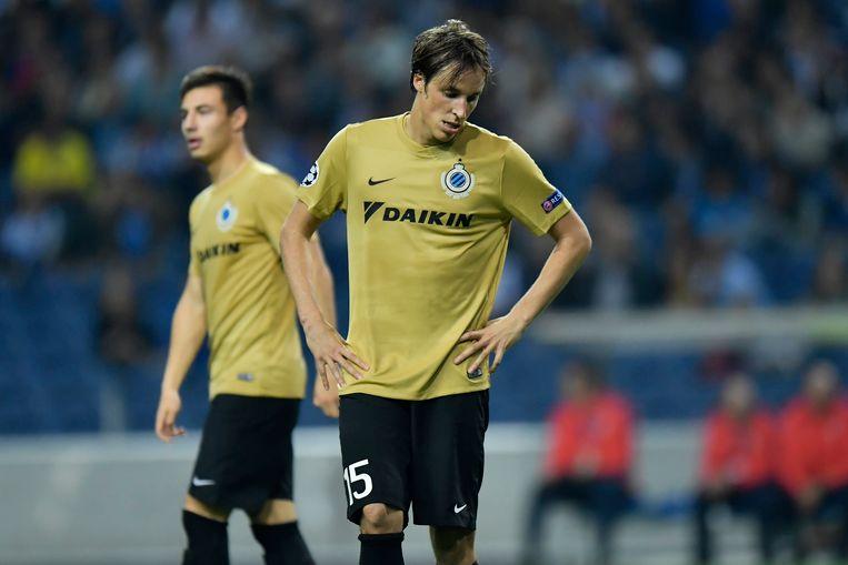 Tomas Pina speelde een ongelukkige rol bij het doelpunt van André Silva.