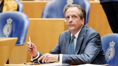 Nederlandse D66-leider Alexander Pechtold stapt op