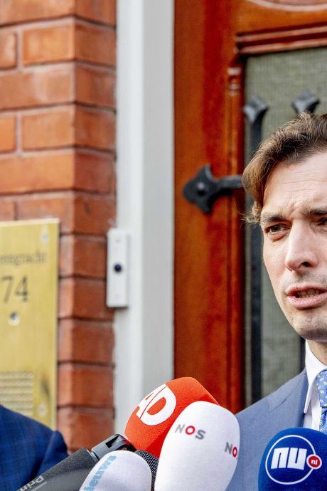 Baudet stelt splitsing van Forum voor Democratie voor, wil partijnaam zelf behouden