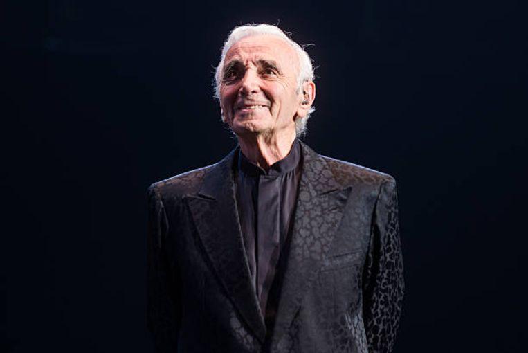 Charles Aznavour. Beeld Redferns via Getty Images