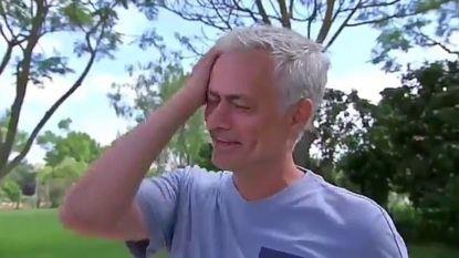 """José Mourinho in tranen: """"Ik mis het voetbal"""""""