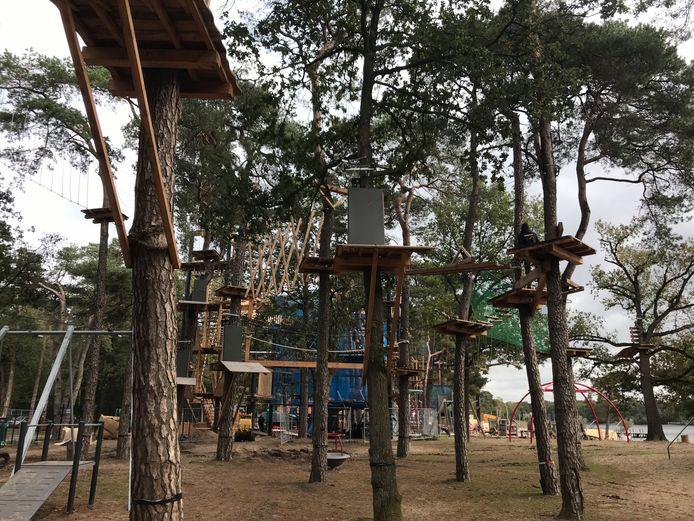 Het klimbos van de IJzeren Man leidt volgens de deskundige niet tot schade aan bomen.