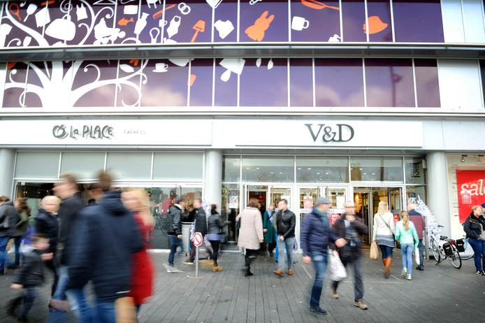De voormalige V&D in Enschede