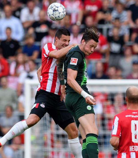 PSV onderuit tegen Wolfsburg in laatste test voor CL