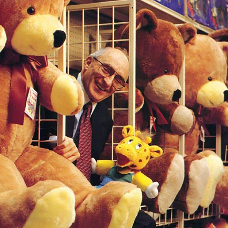 Toys R Us-oprichter Charles Lazarus. Beeld Rechtenvrij