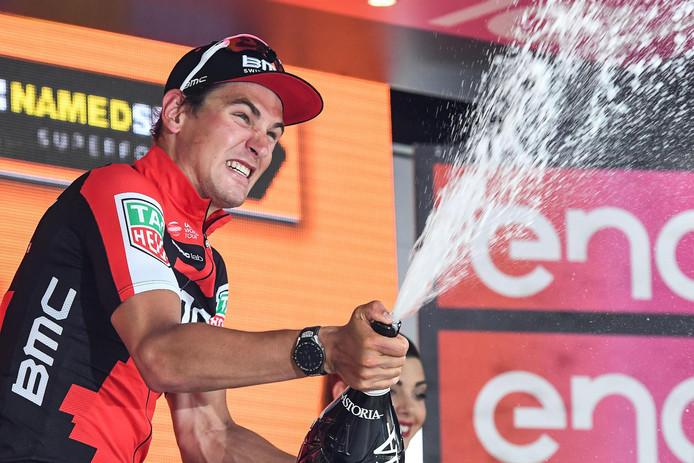 Dillier -hier op archief- na zijn winst tijdens een rit in de Giro.