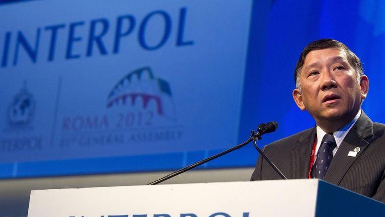 Voorzitter van Interpol, Khoo Boon Hui Beeld ANP